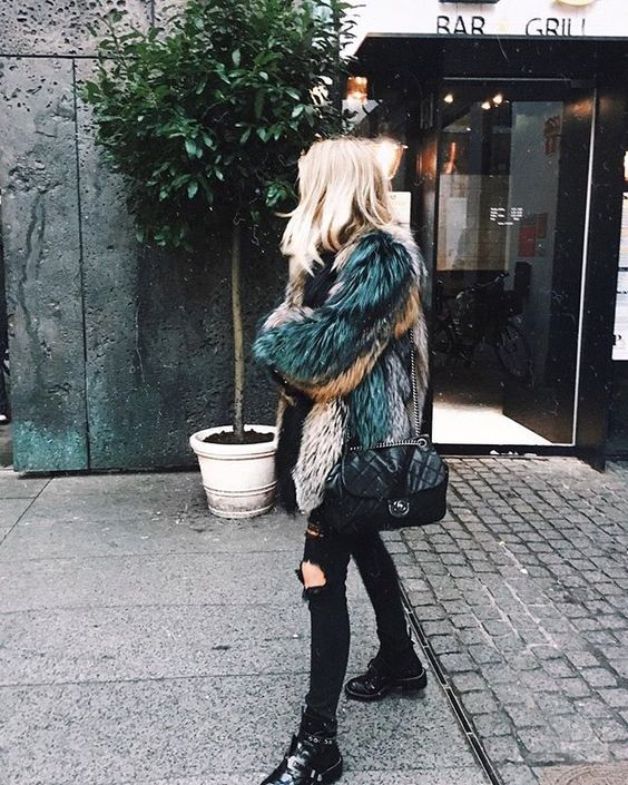Tendencias Street Style only FUR 2016