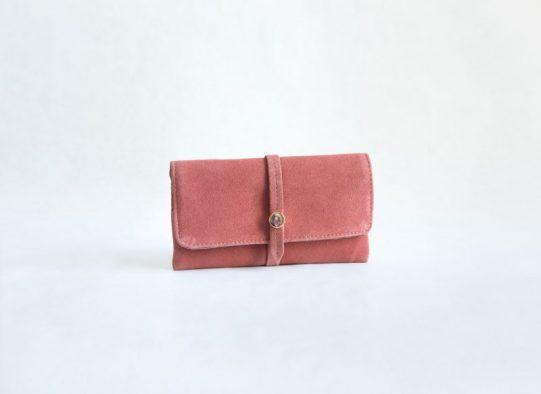 billetero monedero ante rosa fur for you