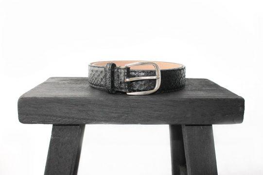 cinturon piel piton